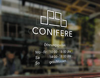 Conifere - Company Branding | Logo Design, Research
