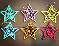 Free Safe Legal - Laser Cut Christmas Decoration