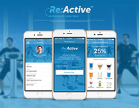 App for fitness center and sport || Ui UX design