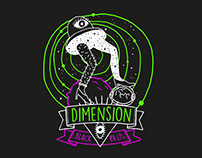 DIMENSION beer label