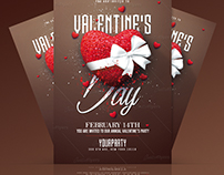 Valentine's Day Psd Flyer Template