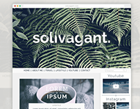 Solivagant. UI Design