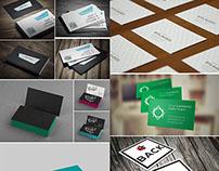 22 Free Business Card Mock-ups PSD – April 2015