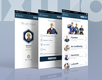 FIXIT JOE Application: Branding & Identity