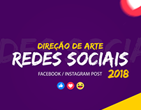 Facebook / Instagram Posts - Social Media 2018