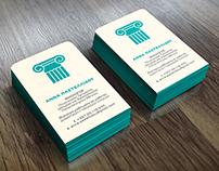 Business Card - Anna Pastellidou