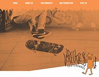 Wreckless Skateboards Website