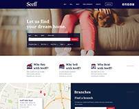 "Website Design - ""Seeff"""
