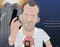 My DIE HARD movie poster