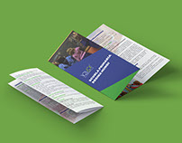 Tri-folder Brochure for Regina Mundi Elementary School
