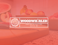 WoodWhirled Logo & Web Design