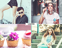 Lighter Photoshop Actions