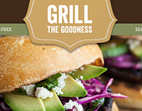 Frontier Co-op. Grill the Goodness Microsite