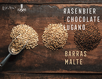 LUGANO E RASEN BIER | Branding and Package
