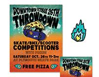 """Downtown Throwdown"" Event Promotion"