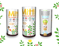 MITTI organic vermicompost packaging