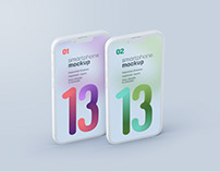 iPhone 13 Pro Clay Mockup Set