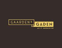 Gaarden og Gaden - As it should be.