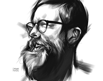 Digital Charcoal sketching