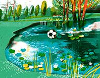 Illustrations for Anorak Magazine
