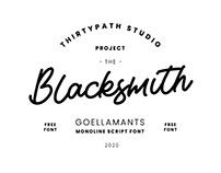 Goellamants Script (Free Font)