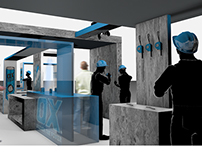 Commercial trade stand/exhibition stand for Ox Tools