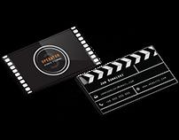 Creative business card for Cameraman