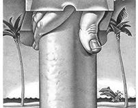 Poster Illustration for Sidewalk Arts Festival - SCAD