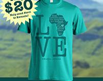 Rwanda Love Shirt