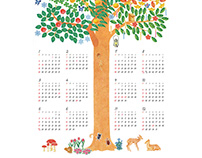 Tree of happiness 2015 Calendar