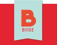 Binge UI/UX Design