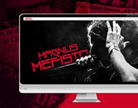 Magnus Mefisto - Sitio Web