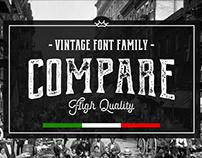 Compare • Font Family