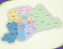 Mapa Região Metropolitana de São Paulo