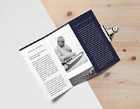 Brioni commisioned design proposal - foldout and invite