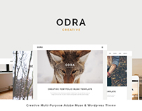 Odra -Wordpress and Adobe Muse Creative Themes