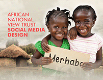 African National View Trust Social Media Design