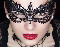 Porträt Maske