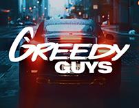 Concept for Greedy Guys — Key Visual & Logo Design