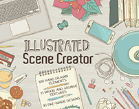 Illustrated Scene Creator