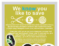 Milton Keynes NHS Promo poster.