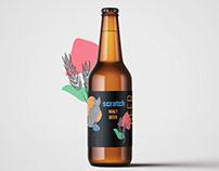 ~SCRATCH~Beer Label design.