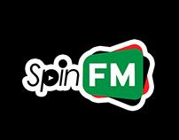SPIN FM Brand Identity