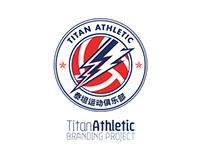 Titan Athletic Branding Concept // Football Project