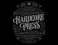 HARDCORE PRESS Lettering