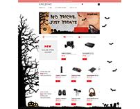 Creative Labs Landing Page - Halloween 2013