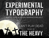 Kinetic Typography & Motion Graphics