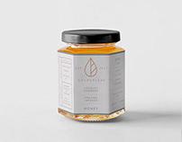 Golden Leaf Tea Company - Adobe 2nd Place Branding
