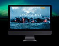 ICELAND.Landing page.