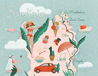 Honeymoon in Sardinia